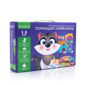 Настільна гра 'Домашні улюбленці' VT2312-07 (укр)