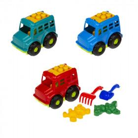 Автобус 'Бусик' №2 (автобус, лоп. и граб. ЛГ4, две пас. П4), сетка п/м