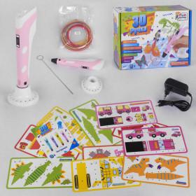 Ручка 3D 28381 (12/2) цвет Розовый 'Fun Game